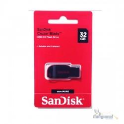 Pen Drive 32GB Sandisk Curzer Blade 2.0